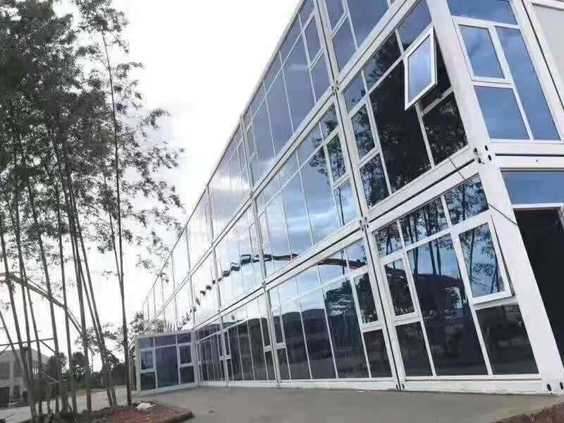 岳阳高档工地住人集装箱房办公室、办公楼、会议室、宿舍
